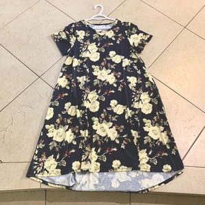 LuLaRoe High Low Dress Floral